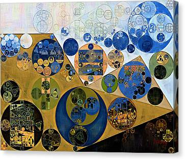 Abstract Painting - Muesli Canvas Print by Vitaliy Gladkiy