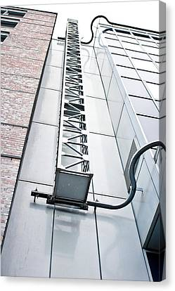 Access Ladder Canvas Print by Tom Gowanlock