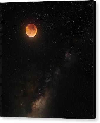 Across The Universe Canvas Print by Bill Wakeley