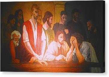 After The Last Supper Canvas Print by G Cuffia