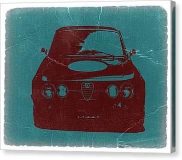 Alfa Romeo Gtv Canvas Print by Naxart Studio
