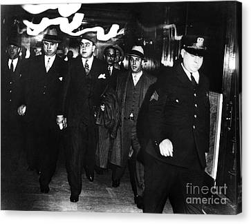 Alphonse Capone (1899-1947) Canvas Print by Granger