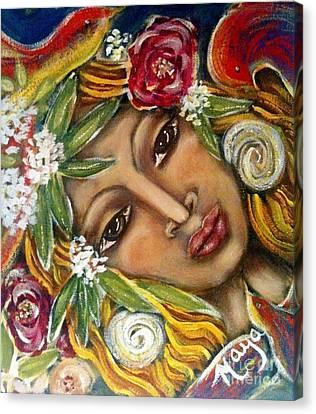 Amazonia Canvas Print by Maya Telford