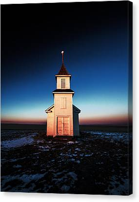 And There Was Light Canvas Print by Todd Klassy