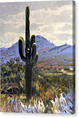 Arizona Icon Canvas Print by Donald Maier