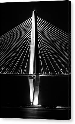Arthur Ravenel Jr. Bridge  Canvas Print by Dustin K Ryan