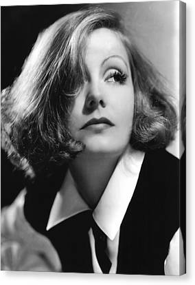 As You Desire Me, Greta Garbo, Portrait Canvas Print by Everett