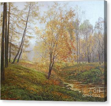 Autumn Canvas Print by Andrey Soldatenko