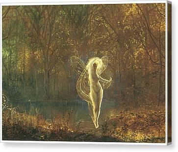 Autumn Canvas Print by John Atkinson Grimshaw