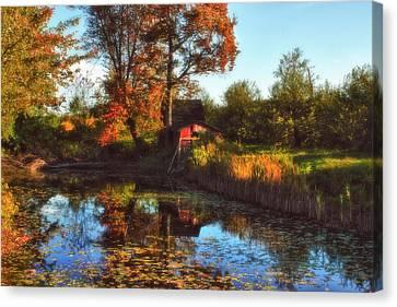 Autumn Palette Canvas Print by Joann Vitali
