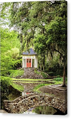 Avery Island Buddha Canvas Print by Scott Pellegrin