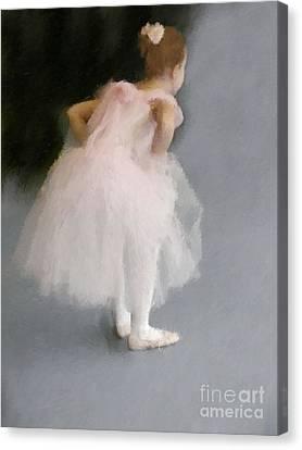 Awaiting The Moment  Canvas Print by Susan  Lipschutz