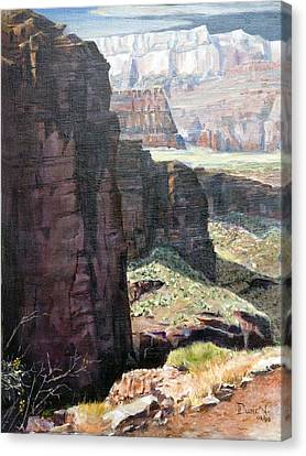 Back Of Zion Canvas Print by Bob Duncan