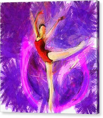 Ballet Canvas Print by Anthony Caruso