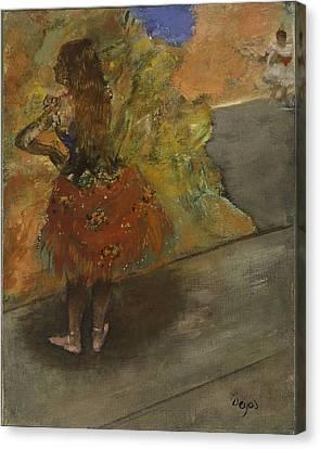 Ballet Dancer Canvas Print by Edgar Degas