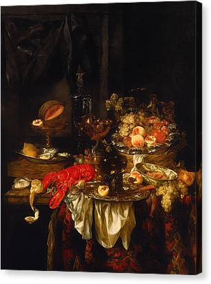 Banquet Still Life Canvas Print by Mountain Dreams