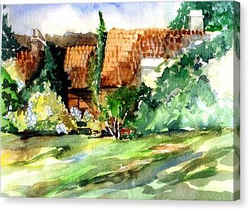 Bath England Canvas Print by Mindy Newman