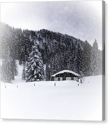 Bavarian Winter's Tale Viii Canvas Print by Melanie Viola