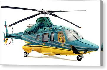 Bell 430 Canvas Print by Lyle Brown
