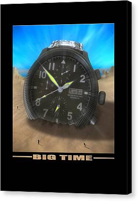 Big Time Canvas Print by Mike McGlothlen