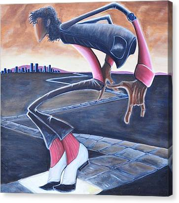 Billie Jean Canvas Print by Tu-Kwon Thomas