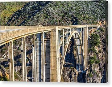Bixby Bridge Canvas Print by Joseph S Giacalone