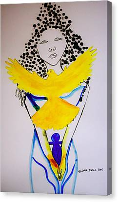 Born Again Canvas Print by Gloria Ssali
