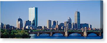 Boston, Massachusetts, Usa Canvas Print by Panoramic Images