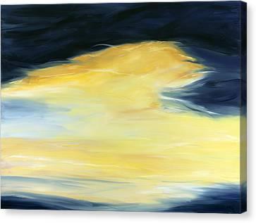 Breaking Through Canvas Print by Tamara Nelson
