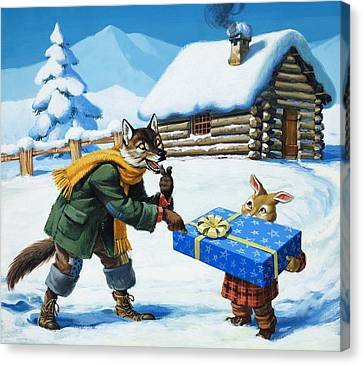 Brer Rabbit  Canvas Print by Virginio Livraghi