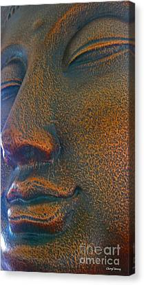 Buddha  Canvas Print by Cheryl Young
