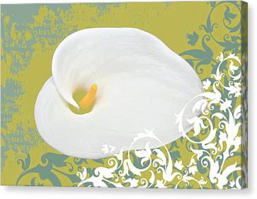 Calla Lily Canvas Print by Cathie Tyler