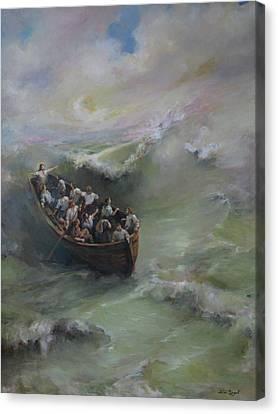Calming The Storm Canvas Print by Tigran Ghulyan