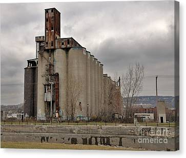 Canada Malting Plant Canvas Print by Reb Frost
