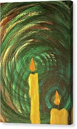 Candlelight 6 Canvas Print by Jonathan Kotinek