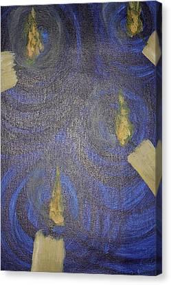 Candlelight 7 Canvas Print by Jonathan Kotinek