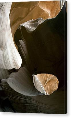 Canyon Sandstone Abstract Canvas Print by Mike Irwin