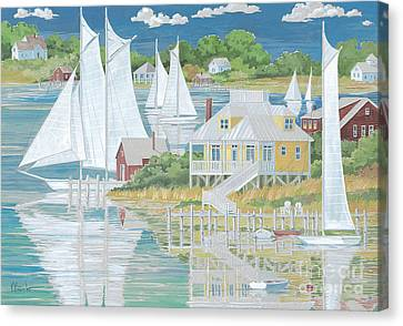 Captain's Home Canvas Print by Paul Brent