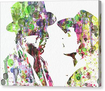 Casablanca 2 Canvas Print by Naxart Studio