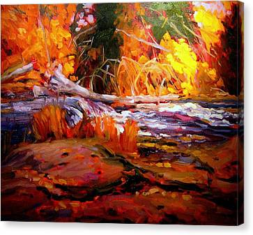 Cascade Canvas Print by Brian Simons