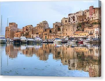 Castellammare Del Golfo - Sicily Canvas Print by Joana Kruse