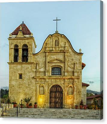 Cathedral Of San Carlos Borromeo Canvas Print by Mountain Dreams