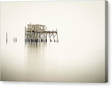Cedar Key Structure Canvas Print by Patrick M Lynch