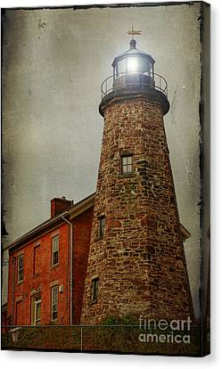 Charlotte Genesee Lighthouse Canvas Print by Joel Witmeyer