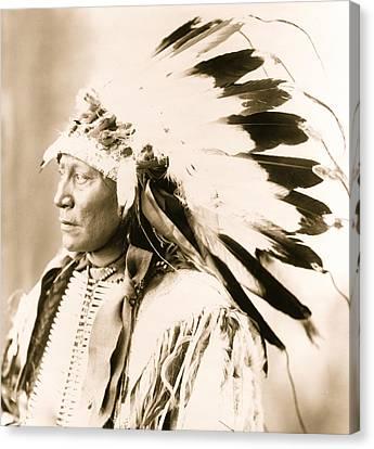 Chief Hollow Horn Bear Canvas Print by American School