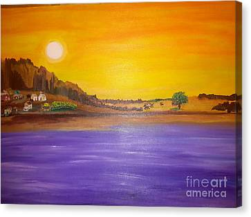 Chisos Canvas Print by Cindy  Riley