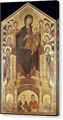 Cimabue: Madonna Canvas Print by Granger