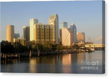 City By The Bay Canvas Print by David Lee Thompson