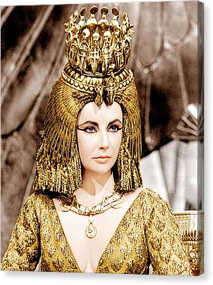 Cleopatra, Elizabeth Taylor, 1963 Canvas Print by Everett