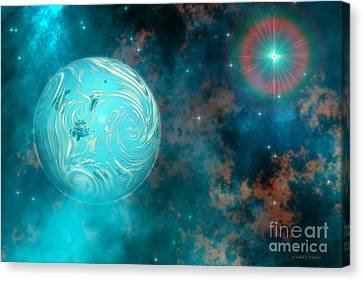 Coalescence Canvas Print by Corey Ford